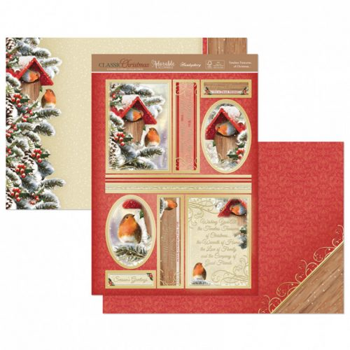 Hunkydory Timeless Treasures of Christmas Luxury Topper Set