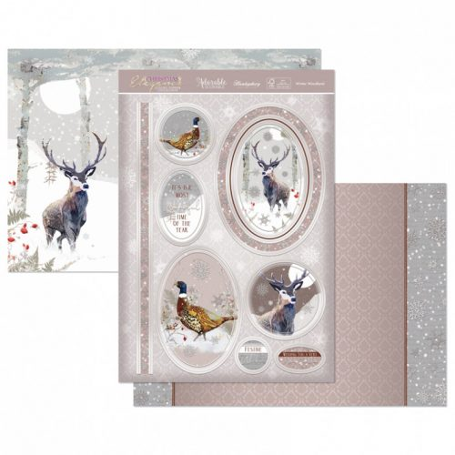 Hunkydory Winter Woodland Luxury Topper Set