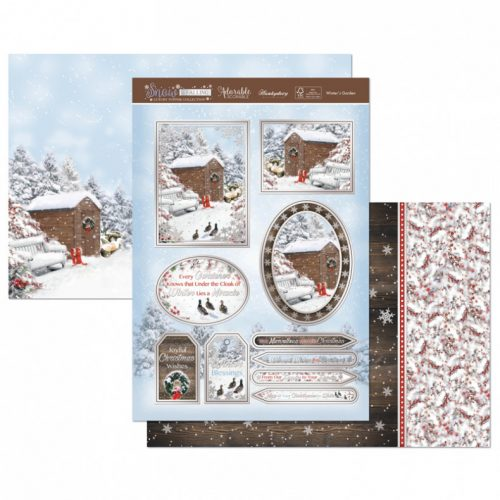 Hunkydory Crafts Winters Garden Luxury Topper Set