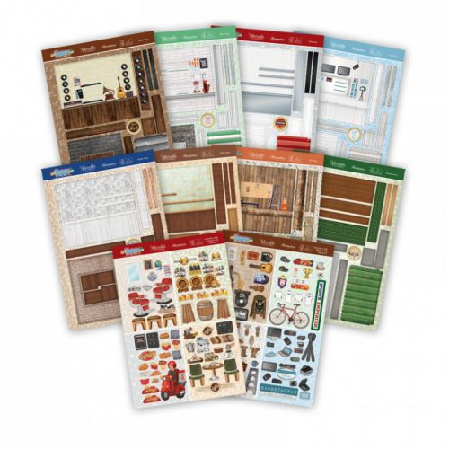 Hunkydory High Street For Him Concept Card Collection