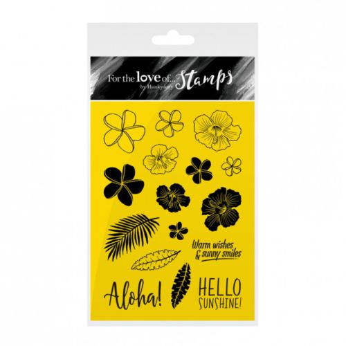 Hunkydory For The Love Of Stamps A6 Stamp Set ALOHA!