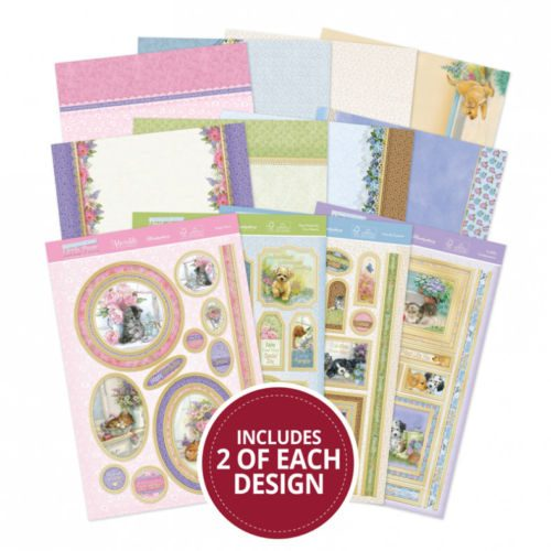 Hunkydory Return of the Little Paws Luxury Topper Collection