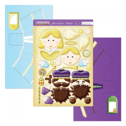 Hunkydory Box-Pops Angelica the Angel & Sage the Wiseman