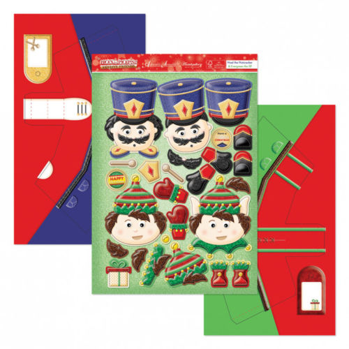 Hunkydory Box-Pops Set - Noel the Nutcracker & Evergreen the Elf