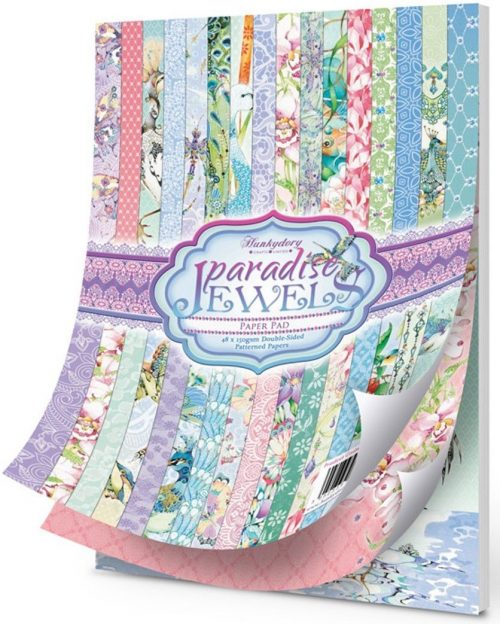 Hunkydory Paradise Jewels Speciality Paper Pad A4