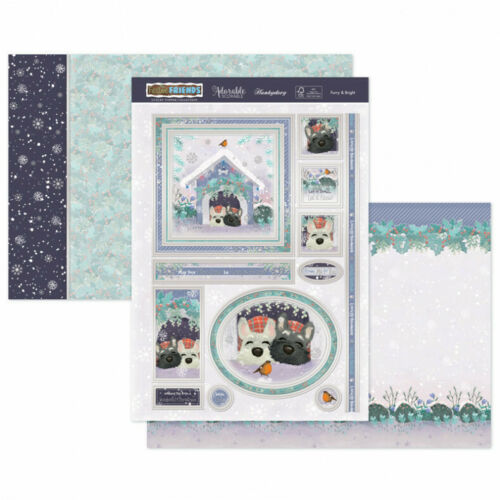 Hunkydory Festive Friends Luxury Topper Set - Furry& Bright